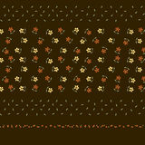 Flower background design vector Stock Images