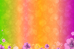 Flower background, element for design, vector Royalty Free Stock Photography
