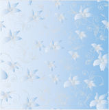 Flower background. Flowers with fine details and a gradient. Square  illustration – a background Royalty Free Stock Images