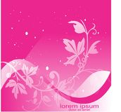 Flower background graphic resource royalty free stock photography
