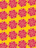 Flower background. Graphic style flower wallpaper background Royalty Free Stock Photography