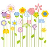 Flower  background,vector Stock Photos