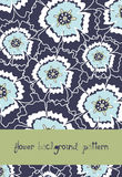 Flower background pattern Royalty Free Stock Image
