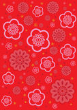 Flower background. Sakura and blossom flower wallpaper Royalty Free Stock Photo