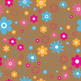 Flower background. Seamless. Royalty Free Stock Photos