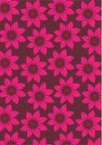Flower background. Seamless flower wallpaper background design Royalty Free Stock Photos