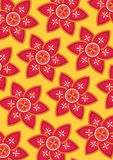 Flower background. Seamless flower wallpaper background design Royalty Free Stock Photo