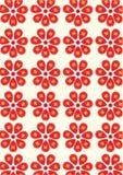 Flower background. Seamless flower wallpaper background design Stock Images