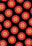 Flower background. Seamless flower wallpaper background design Royalty Free Stock Photography