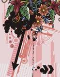Flower background series vector illustration