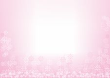 Flower Background. Simple and soft flower background Stock Illustration