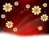 Flower background with space for text. Element for design Royalty Free Stock Photography