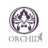 Flower Background Template.  Lotus symbol. Logo Royalty Free Stock Photography
