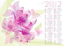 Flower-background vector 10 EPS Stock Photography