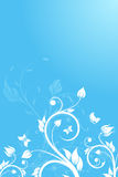 Flower background. Vector illustration Royalty Free Stock Photos