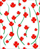 The flower background. Vector illustration Stock Images