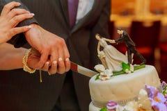 Flower background  wedding cake Stock Photo
