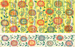Flower background for your design. Royalty Free Stock Photos