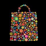 Flower bag Royalty Free Stock Images