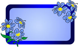 Flower banner Royalty Free Stock Photography