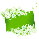 Flower Banner Stock Image