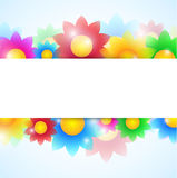 Flower Banner Stock Photos