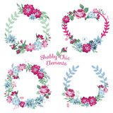 Flower Banners and Tags Royalty Free Stock Photos