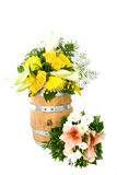 Flower barrel 11 royalty free stock photography