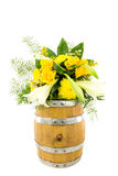 Flower barrel 12 Royalty Free Stock Images