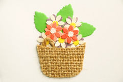Flower basket Royalty Free Stock Photo
