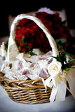 Flower basket Stock Photos