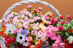 The flower basket Royalty Free Stock Image