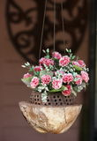 Flower basket Royalty Free Stock Images