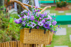 Flower basket Royalty Free Stock Photography