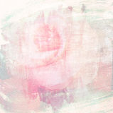 Flower beautiful rose, art paint illustration for background Royalty Free Stock Photos