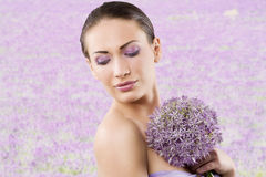 Flower and beauty Royalty Free Stock Images