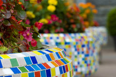 Flower  bed Stock Photography