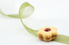 Flower biscuit Royalty Free Stock Photography