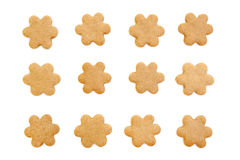 Flower biscuits Stock Photography