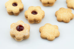 Flower biscuits Stock Photo