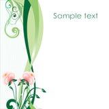 Flower_blank Imagens de Stock