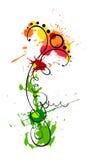 Flower_blob Stockbild