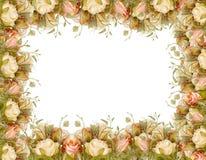 flower border frame Royalty Free Stock Photography
