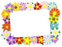 Flower border Stock Photos