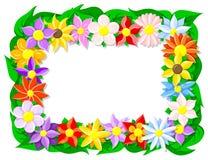 Flower border Stock Photography
