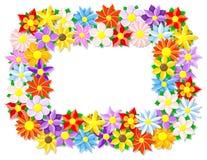 Flower border Royalty Free Stock Photo
