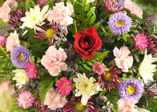 A flower bouquet Stock Images