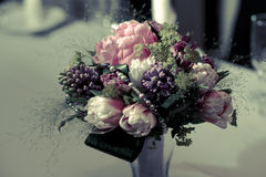 Flower bouquet or centerpiece Stock Photography