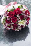 Flower bouquet close up. Royalty Free Stock Photography