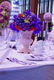 Flower bouquet  in event wedding party. Royalty Free Stock Image